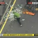 Zamieszki w Londynie - protest wandala!