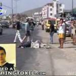 Samochód zabił pieszego! (Turcja)
