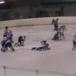 Rosjanie grają w hokeja