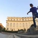 Skater złamał stopę - BOLESNE!