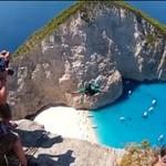 Basejumping w Grecji - PIĘKNE!
