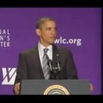 Barack Obama śpiewa piosenkę Lady Gagi!