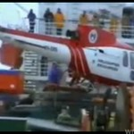 Wypadek helikoptera - NA STATKU!