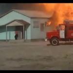Strażacy oszczędzają wodę