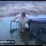 Przeprawa przez bagna i chaszcze - WPADKA!