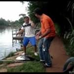 Ryba pokazała mu, gdzie jego miejsce!