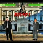 "Kandydaci na prezydenta w grze ""Mortal Kombat"""