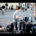 Najlepszy perkusista w Norwegii!