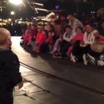 Dzieciak, który porwał tłumy!