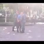 Próbował znokautować patrol policji
