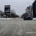 Zwyczajny dzień na drodze w Rosji...
