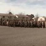 Pożegnanie żołnierzy w stylu Maorysów