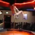Kiedy striptizerka się nudzi...