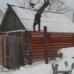 "Śniegowe ""salto""..."
