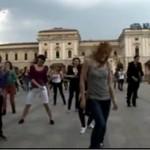 Taneczny flashmob z Krakowa