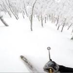 Ekstremalny zjazd na nartach - WHOA!