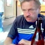 Zjadł szklankę, żeby dostać jabola!