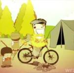 Makabryczna podróż na rowerku!