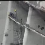 Wypadek na budowie - IDIOCI!