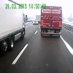 Tymczasem na drogach we Włoszech...