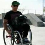 Jeździ na wózku, ale nie zrezygnował ze swoich marzeń!