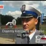 Fragment reportażuo Polsce - co o nas myślą w Stanach?