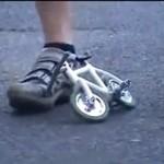 Najmniejszy rowerek świata