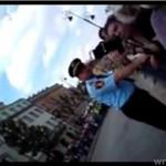 """""""Ty suko żydowska!"""" - protestująca do filmującej"""
