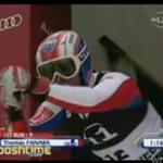 Wypadek narciarza - BOLESNE!