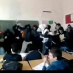 Dyskotekowa scenka w klasie