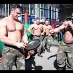 Żołnierze z Rosji - demonstracja siły