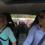 Babcia zabrana na przejażdżkę