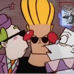 Johny Bravo i klauny