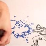 Twórca kontra twórczość - świetna animacja!