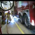 Wpadka strażaka - w remizie!