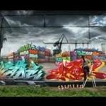 Mad C - dziewczyna robi NIEPRAWDOPODOBNE graffiti!