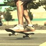 Skateboardowe tricki w zwolnionym tempie