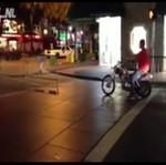 Pijany próbował prowadzić motocykl
