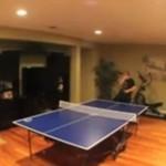 Legendarna końcówka meczu ping ponga