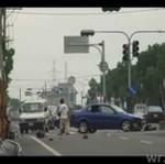NAJGORSZY wypadek z udziałem motocyklisty!
