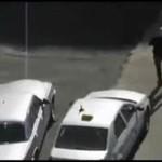 Idiota z Rosji pobił 15 samochodów!