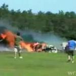 Wypadek podczas pokazu lotniczego