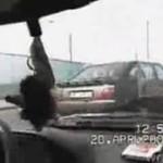 IDIOTA z Polski rozbił się na drodze! MOCNE!