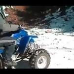 Pomylił quada z monster truckiem...