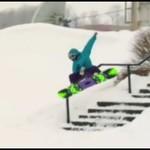 Dziewczyny na snowboardzie - AUĆ!