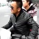 Wściekły Azjata vs patrol policji