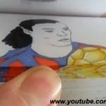 Najlepsze zagrania Ronaldinho - animacja karteczkowa