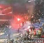Zamieszki podczas meczu koszykówki