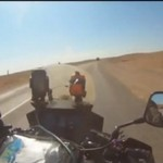 Motocykliści ocierają się o śmierć
