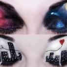 Baśniowy makijaż oczu - WOW!